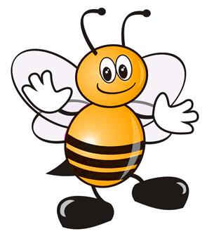 ilustracja - pszczola