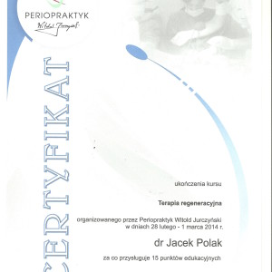 periopraktyk regeneracja